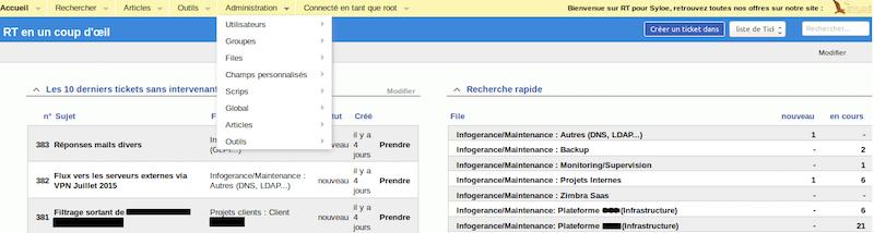 gestion de tickets open source avec rt interface