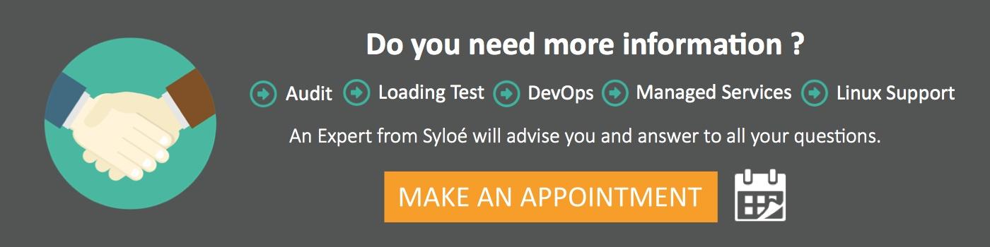Rendez-vous avec un expert Syloé