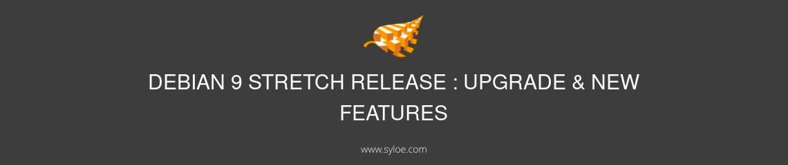 debian stretch release upgrade