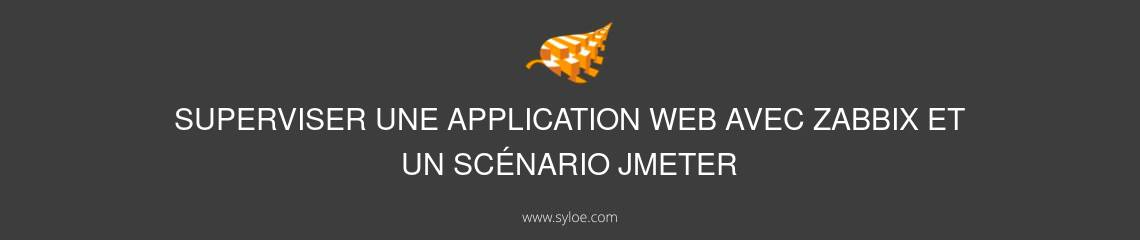 Superviser application web avec zabbix et scenario jmeter