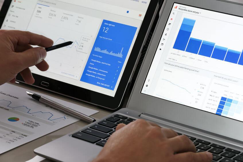 pics d'activité d'un site e-commerce - Syloé Blog