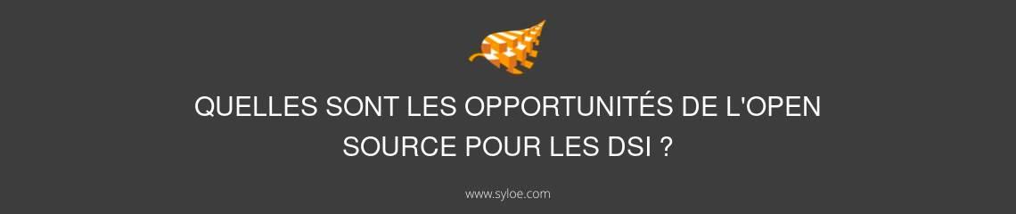 opportunités open source DSI