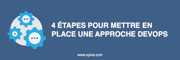 mettre en place une approche devops - Syloé Blog