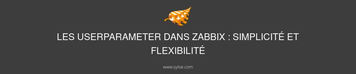 UserParameter dans Zabbix
