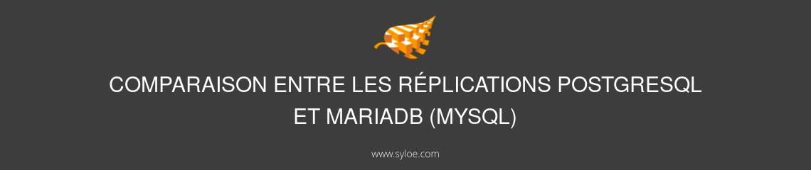 PostgreSql et MariaDB - Comparaison Syloe