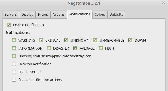 notifications nagstamon