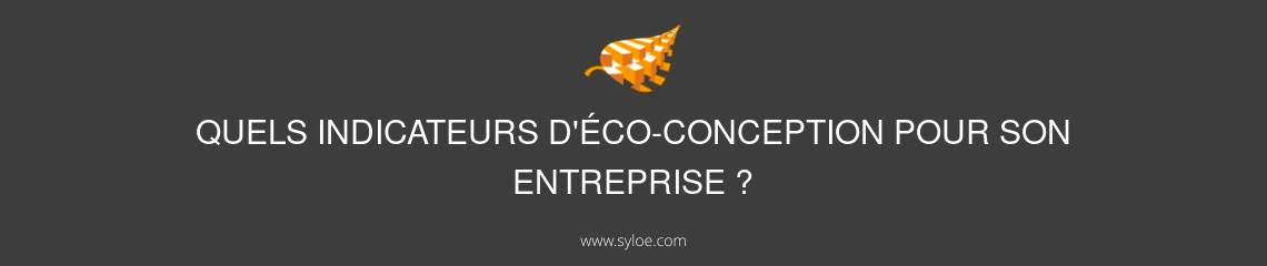 indicateurs éco-conception